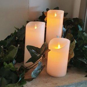 LED candle moving